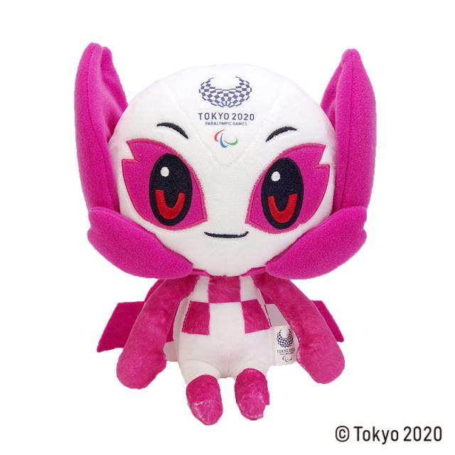 東京2020 パラリンピックマスコット  ぬいぐるみ  M