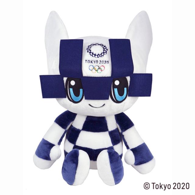 東京2020 オリンピックマスコット ミライトワ 2L