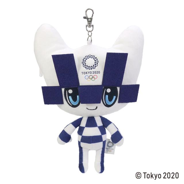 東京2020 オリンピックマスコット ミライトワ リールパスケース