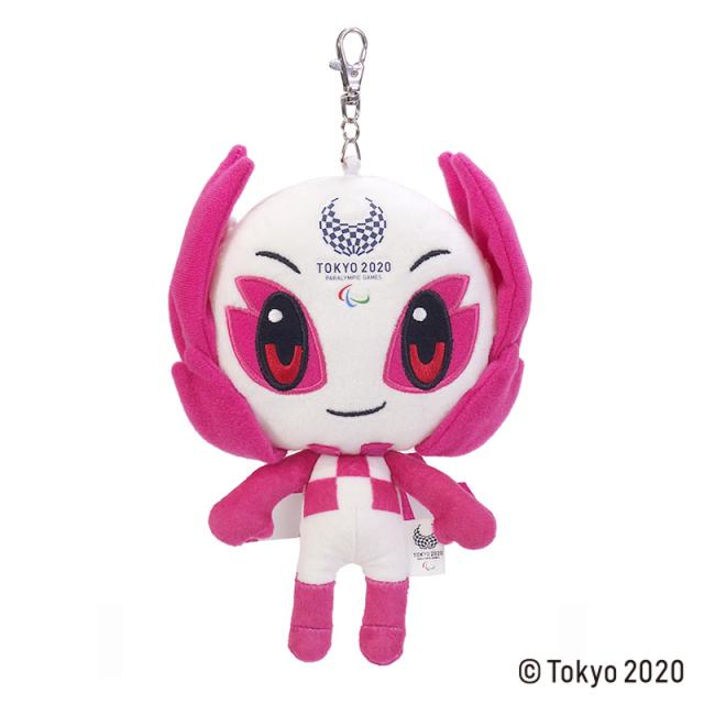 東京2020 パラリンピックマスコット ソメイティ リールパスケース