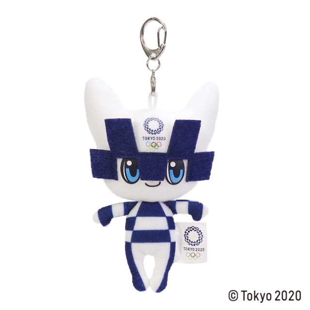東京2020 オリンピック ミライトワ 立体マスコット