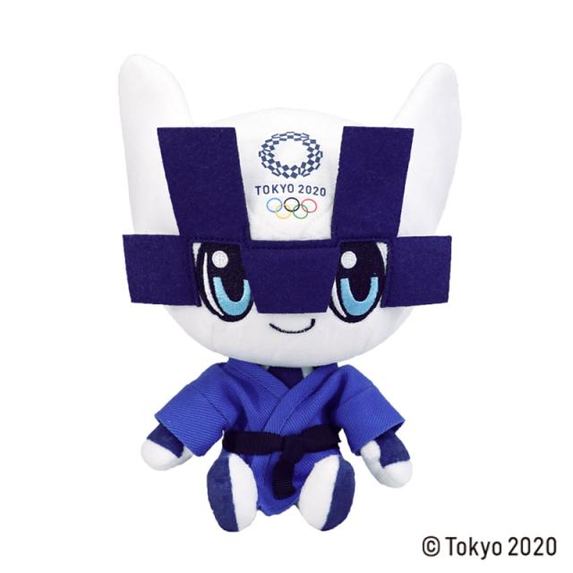 東京2020 オリンピックマスコット  ぬいぐるみ  M / 柔道 青