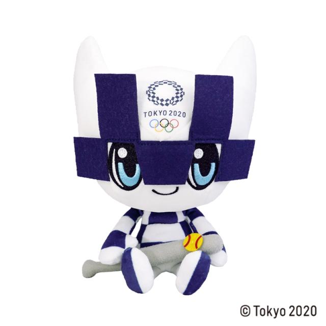 東京2020 オリンピックマスコット  ぬいぐるみ  M / ソフトボール