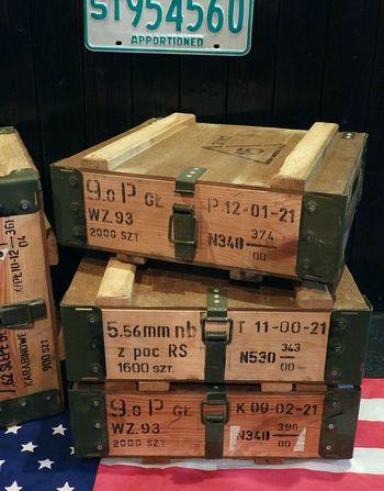 アンモボックス 工具箱 ポーランド軍アンモボックス ミリタリー雑貨 アメリカ雑貨屋 SUNBRIDGE