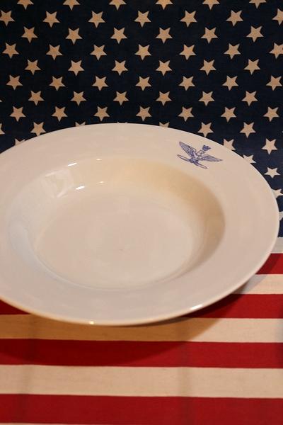 ミリタリー食器 スープ皿 イタリア軍スープ皿 デッドストック食器 アメリカン雑貨通販 SUNBRIDGE サンブリッヂ