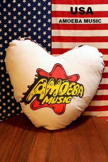 アメーバミュージックキャップ アメーバミュージックハート型クッション アメリカ雑貨屋 サンブリッヂ 通販