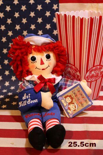 アンアンドアンディ ぬいぐるみ ラガディ  人形  通販 アメリカン雑貨通販 アメリカ雑貨屋 サンブリッヂ