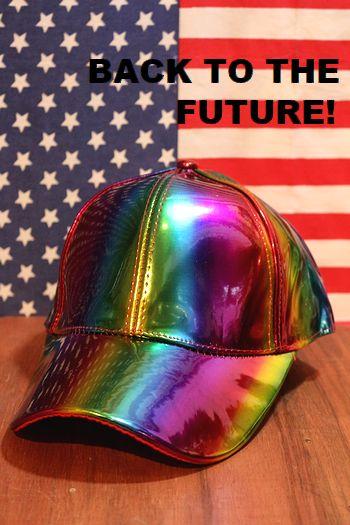 バックトゥザフューチャー2キャップ マーティ帽子 BTTF帽子 映画グッズ アメリカン雑貨通販 アメリカ雑貨屋 サンブリッヂ