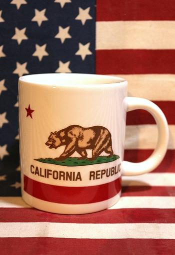 カリフォルニアマグカップ食器 アメリカン食器 アメリカ雑貨屋 サンブリッヂ