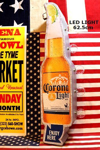 コロナライト コロナビールライト コロナビールLEDライト看板 マーキーLEDサインライト アメリカ雑貨通販 アメリカ雑貨屋 サンブリッヂ