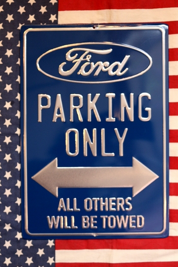 フォード専用駐車場看板 fフォードパーキングサイン アメ車看板 アメリカ雑貨屋 サンブリッヂ 看板通販