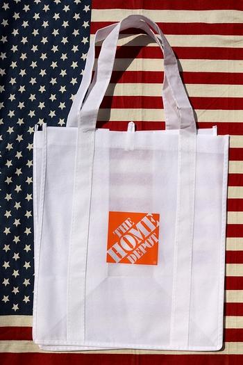 ホームデポエコバッグ ホームデポバッグ  HOMEDEPOT アメリカ雑貨通販 サンブリッヂ SUNBRIDGE