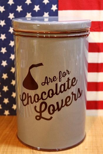 キスチョコキャニスター ハーシーズキャニスター クッキージャー アメリカチョコレート アメリカ雑貨通販 サンブリッヂ
