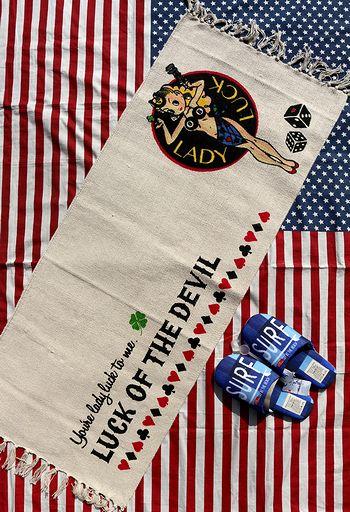 レディラックロング マットキッチンマット ラットフィンクマット エドロス アメリカンマット アメリカ雑貨通販 サンブリッヂ