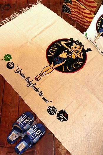レディラックマット ラットフィンク エドロス アメリカンマット レディラック通販 アメリカ雑貨通販 サンブリッヂ