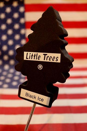 リトルツリーアンテナトッパー アンテナトップ 車アンテナ リトルツリー ブラックアイス アメリカ雑貨通販 サンブリッヂ