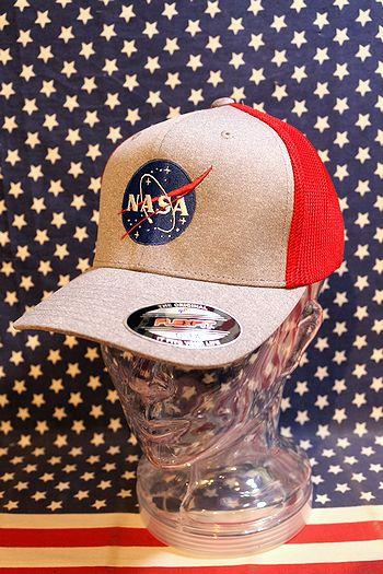 NASAメッシュキャップ アメリカサイエンスセンター帽子 アメリカキャップ通販 アメリカ雑貨屋 サンブリッヂ