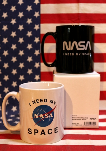 ナサマグカップ NASAマグカップ ワームロゴマグカップ 宇宙雑貨通販 アメリカ雑貨通販 アメリカ雑貨屋 サンブリッヂ
