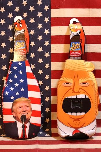 トランプ大統領グッズ トランプ大統領栓抜き トランプドリンクホルダー  アメリカ雑貨屋 サンブリッヂ