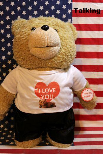 テッド ぬいぐるみ トーキングテッド アメリカ映画グッズ TED 通販