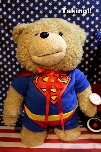 テッド ぬいぐるみ トーキングテッド アメリカ映画グッズ TED 通販 アメリカ雑貨屋   サンブリッヂ アメリカン雑貨通販