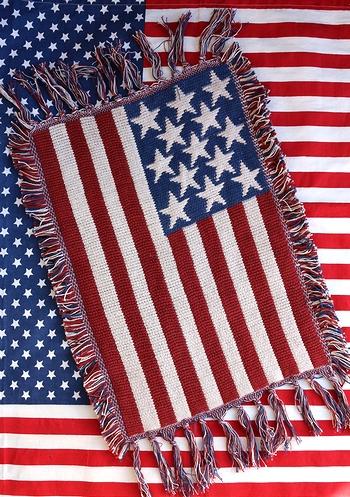 星条旗ラグマット 星条旗マット アメリカマット アメリカ雑貨屋 サンブリッヂ 通販