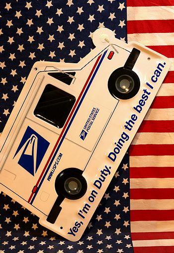 USPS看板 USPS アメリカ郵便局 USカンパニー アメリカ雑貨屋 サンブリッヂ アメ雑 通販