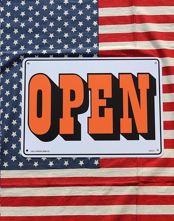 OPENCLOSED看板 アメリカンオープン看板 プラスチックオープン看板 アメリカ雑貨屋 サンブリッヂ アメリカン雑貨 通販