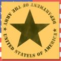 ステンシルアート アメリカ雑貨屋サンブリッヂ U.S.ARMY
