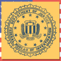 ステンシルアート アメリカ雑貨屋サンブリッヂ FBI