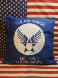 エアフォースクッション USAFクッション U.S.AIRFORCEクッション 所さん 世田谷ベース アメリカ雑貨屋 サンブリッヂ