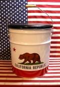 カリフォルニアオイル缶 カリフォルニアスツール アメリカ雑貨屋 サンブリッヂ