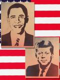 ステンシルアート オバマ アメリカ雑貨屋サンブリッヂ