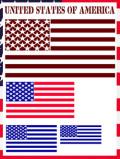 ステンシルアート 星条旗