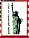 ステンシルアート 自由の女神 アメリカ雑貨屋サンブリッヂ