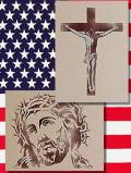 ステンシルアート キリスト