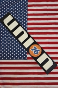 ユニオン76看板 エンボス看板 ダイカットサイン UNION76 アメリカン看板 アメリカ雑貨屋 SUNBRIDGE