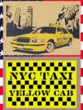 ステンシルアート イエローキャブ タクシー アメリカ雑貨屋サンブリッヂ