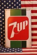 7UP看板 アメリカンサインボード 7UP 看板 アメリカ雑貨屋 サンブリッヂ アメリカン通販