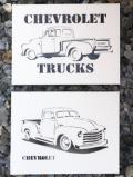 ステンシルアート シボレートラック アメリカ雑貨屋サンブリッヂ