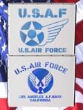 ステンシルアート USAF アメリカ雑貨屋サンブリッヂ