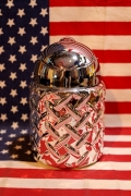 メタリック灰皿 ドーム灰皿 ミリタリー雑貨通販 アメリカン灰皿 アメリカ雑貨屋 サンブリッヂ