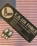 エアフォースキッチンマット エアフォースフロアマット AIRFORCEトイレマット USAFマット アメリカ雑貨屋 サンブリッヂ