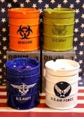ドラム缶型灰皿 エアーフォース アメリカ雑貨屋 サンブリッヂ