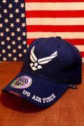 ベースボールキャップ 輸入ベースボールキャップ エアフォースキャップ アメリカキャップ 立体刺繍 帽子 サンブリッヂ