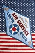エアサービス看板アメリカ空軍看板 AIRSERVICE看板 世田谷ベース看板 メリカ雑貨屋 SUNBRIDGE アメリカ雑貨通販