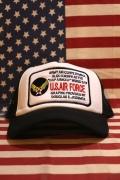 エアフォースメッシュ刺繍キャップ アメリカン帽子 USAF U.S.AIRFORCE アメリカ雑貨屋 サンブリッヂ
