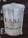スチール看板 アラームクロック U.S.M.C アメリカ雑貨屋 SUNBRIDGE