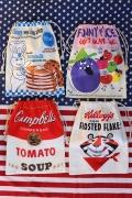 アメリカン巾着 ドゥボーイ巾着 ファニーフェイス巾着 キャンベル巾着 ケロッグタイガー巾着 アメリカ雑貨屋 サンブリッヂ