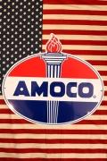 アモコ看板 AMOCO看板 アモコオイル ダイカット看板 アメリカン看板通販 アメリカ雑貨屋 サンブリッヂ